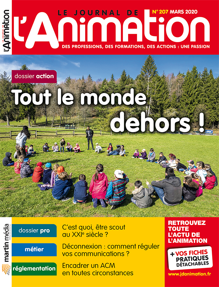 Le Journal de l'Animation 207 - mars 2020