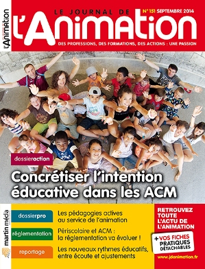 Le Journal de l'Animation 151 - septembre 2014