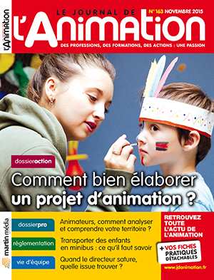 Le Journal de l'Animation 163 - novembre 2015