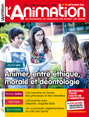Le Journal de l'Animation 171 - septembre 2016