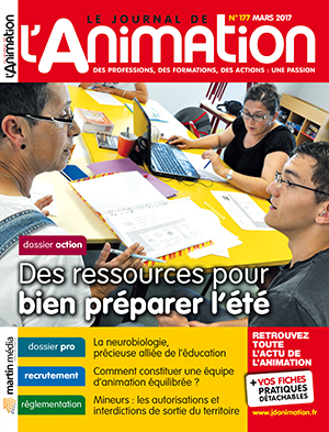 Le Journal de l'Animation 177 - mars 2017